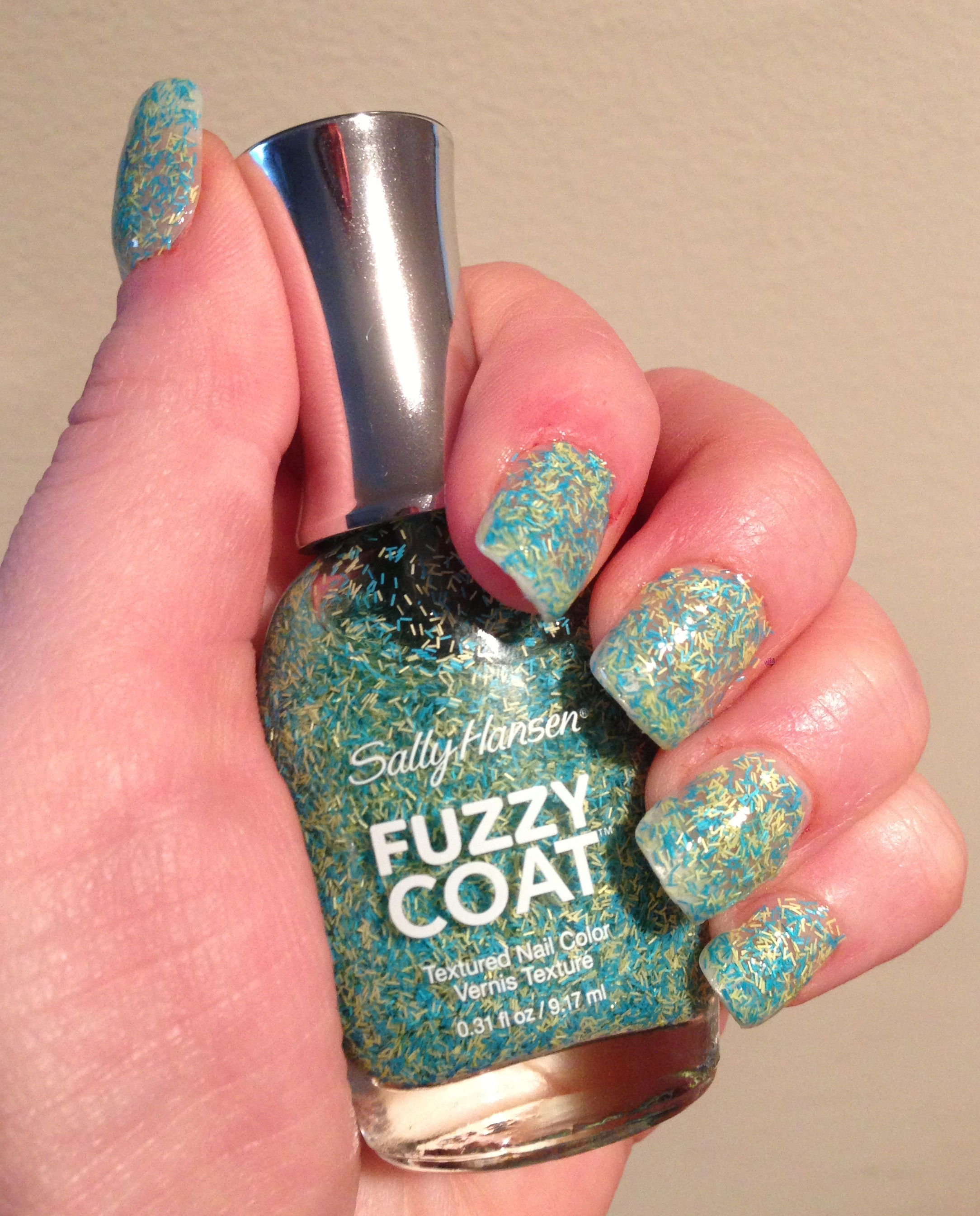 Obsession of the Day: Sally Hansen Fuzzy Coat Textured ...