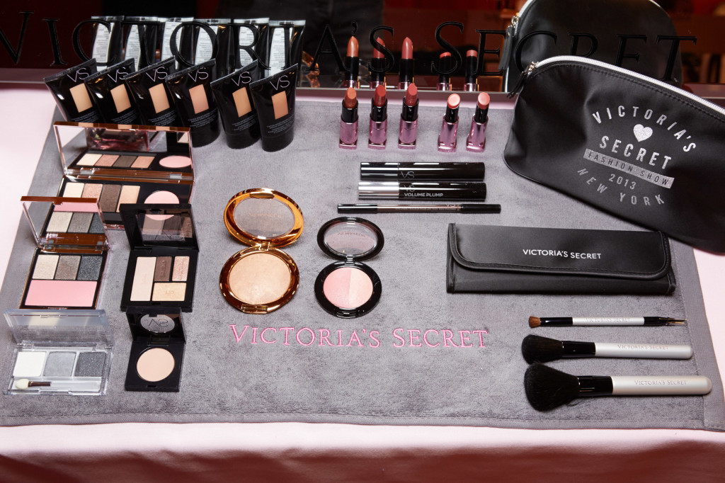 Backstage at the 2013 Victoria's Secret Fashion Show in New York City on November 13, 2013.