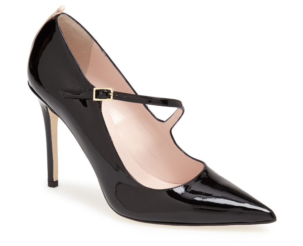 Diana Pump Black Patent - $365