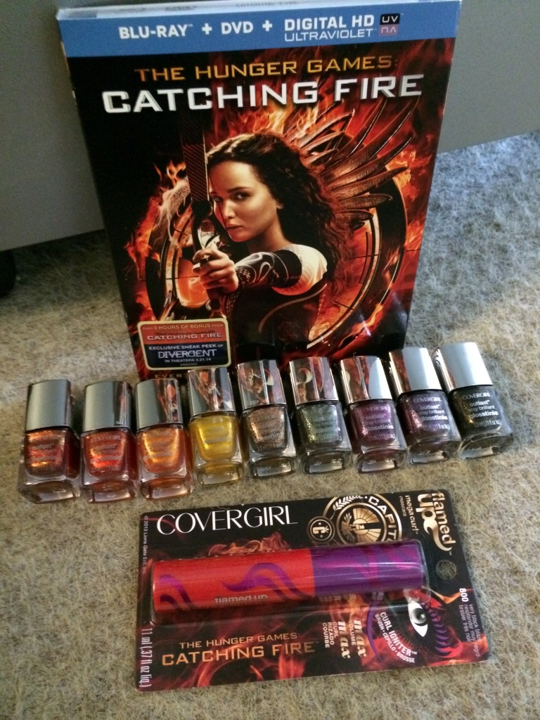 HG Catching Fire Beauty Kit Flat