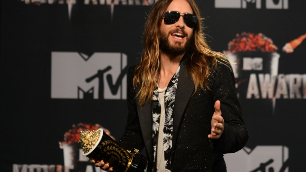 Jared Leto MTV Movie Awards